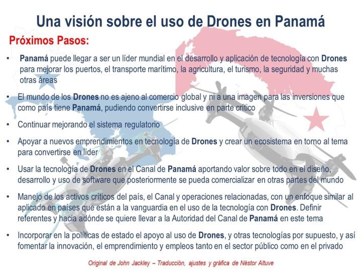 Una visión sobre el uso de Drones en Panamá